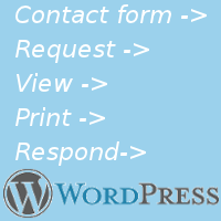 Creating a little request management module for WordPress site