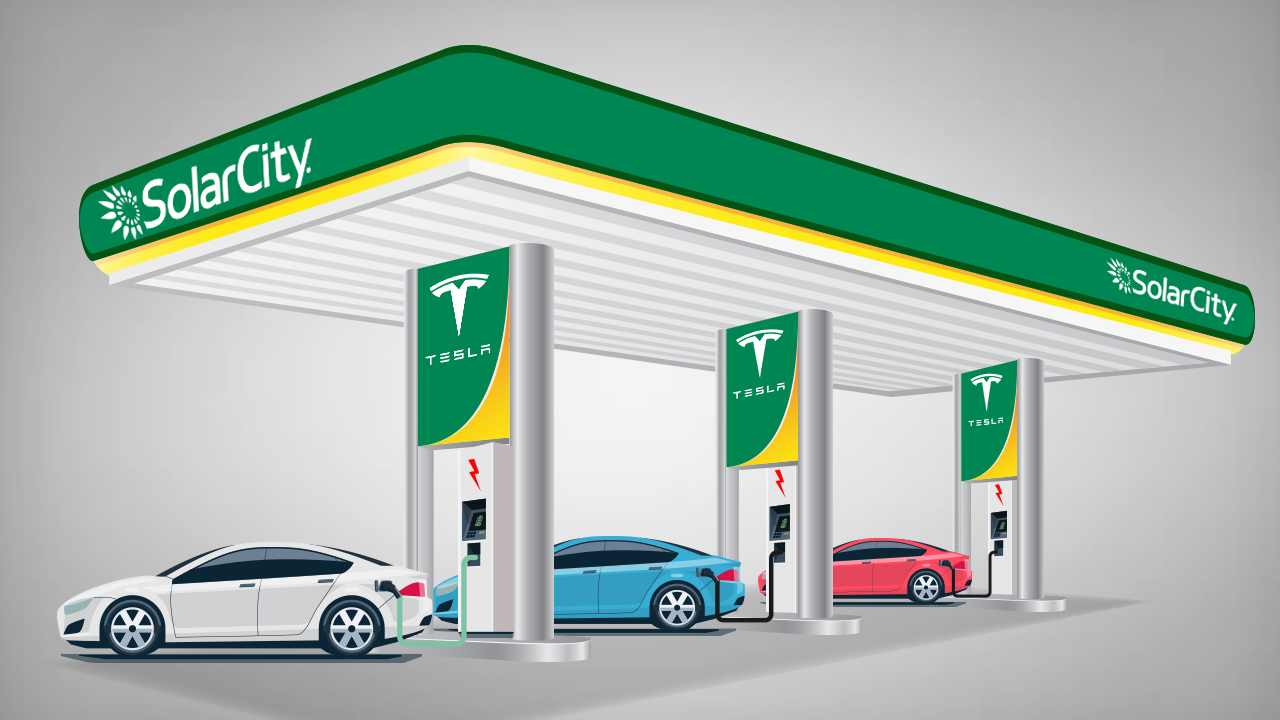 Tesla and SolarCity