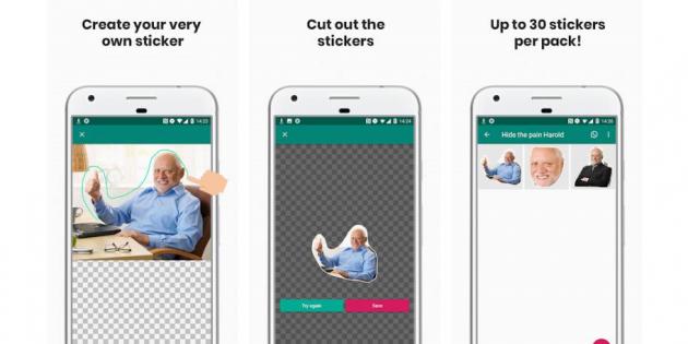 Create Custom WhatsApp Stickers based on Real Photos